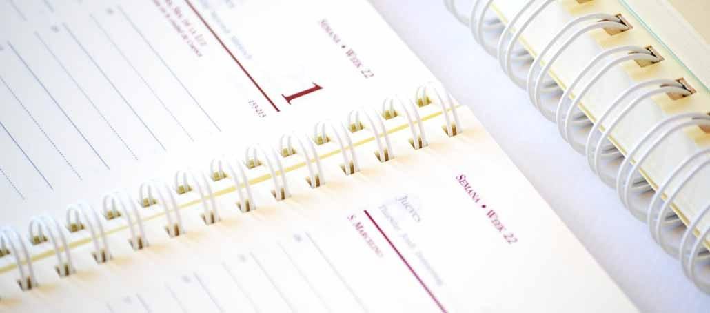 agendas personalizadas wire-o