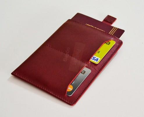 accesorios de viaje funda para pasaporte