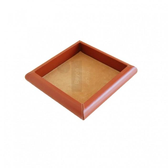 articulos-de-escritorio-vaciabolsillos-piel-cuadrado-madera-bayon-pellicer